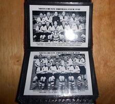 NOTTS COUNTY FOOTBALL CLUB Photo Album (1940's, 1950's, 1960's + CUP WINNERS)