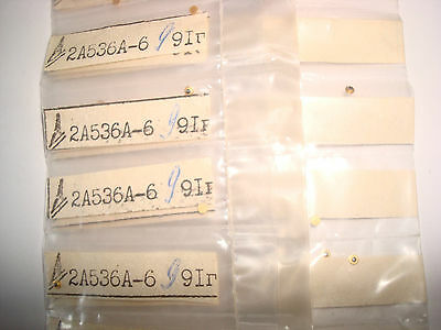 300GHz.Lot of 5pcs. 2A536A Military Si Switching p-i-n Diode