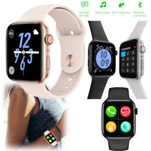 2021 Bluetooth Smart Watch Fitness Tracker Heart Rate Monitor Water-Resistant