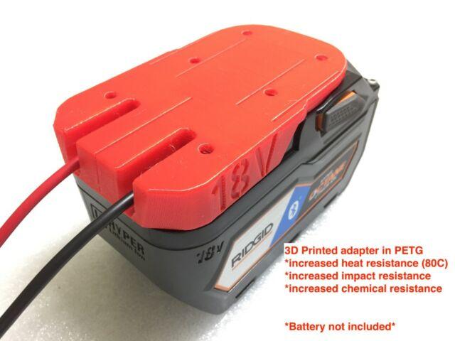 H Adattatore della batteria per Ridgid 18V Hyper Li-Ion Battery Dock Connettore di alimentazione rigido