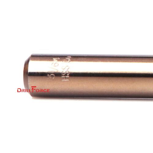 "10PCS 3//8/"" Cobalt Drill Bit Set M35 HSS Jobber Length Twist Drill Bits Tools"