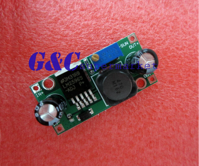 5PCS LM2596 DC-DC adjustable power step-down module GREEN NEW GOOD QUALITY M23