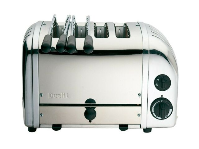 Dualit 42174 Combination Stainless Steel Toaster 2 + 2 (Boxed New)