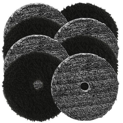"Buff and Shine Uro-Fiber 5/"" Microfiber Pad Mix /& Match 8 Pack"