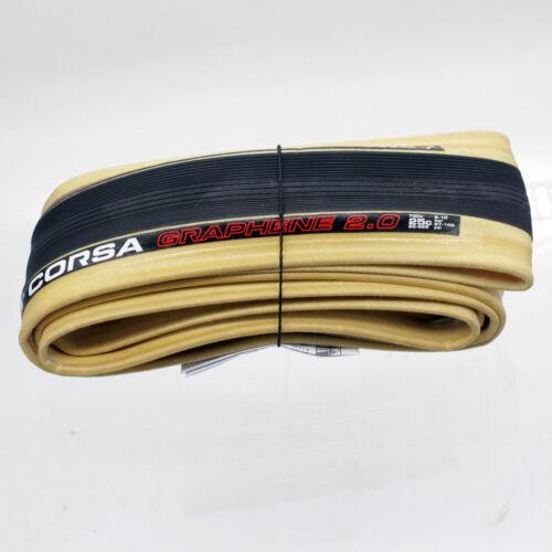 Vittoria Corsa G Competition Graphene 2.0 700 x 25C Road Bike Clincher Tire