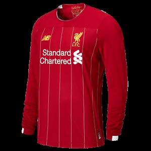 Liverpool Fc Oficial Hogar réplica para hombre de manga  larga T-Shirt 2019 20  buen precio