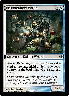MTG 4x MISTMEADOW WITCH Commander 2013 *Exile Return*
