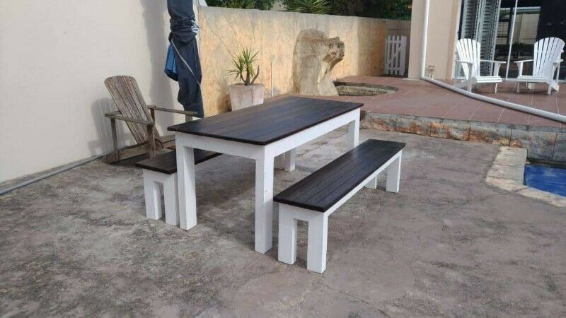 BENCHES,TABLES AND CHAIRS