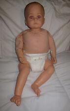"GOTZ Hildegard Gunzel Baby Boy Doll 22"" Tall Purple Eyes #451-20  girl clothes"