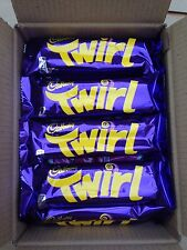 CADBURY TWIRL.BOX OF 24x43g.BEST BEFORE DATE 05/04/2017.