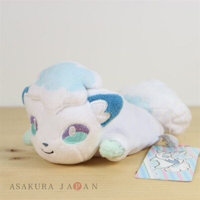 Pokemon Center Original Kuttari Series Alola Vulpix Plush Awake Version Japan