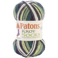 Spinrite NOM061574 Kroy Socks Yarn Bramble Stripes Craft Supplies