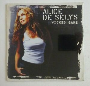ALICE-DE-SELYS-WICKED-GAME-CHRIS-ISAAK-CD-Single-NEUF-NEW