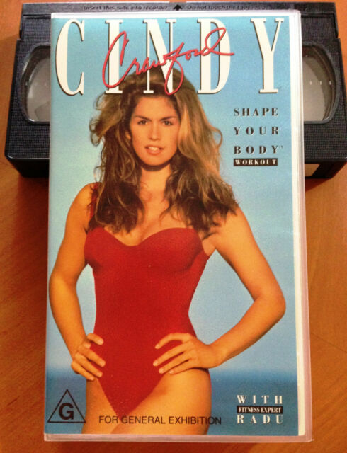 CINDY CRAWFORD - SHAPE YOUR BODY WORKOUT - 1992 VHS