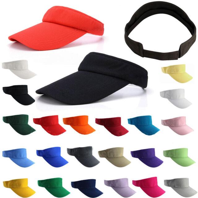 Unisex Sun Visor Cap Schirmmütze Tennis Golfcap Sonnenschutz Sonnenschild Farbe