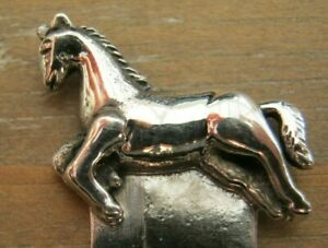 Sweet-Sterling-Silver-925-Running-Horse-Stallion-Bookmark