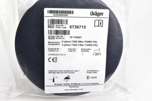 DRÄGER 6736715 NEU X-plore 7300 Filter TH//M3 PSL