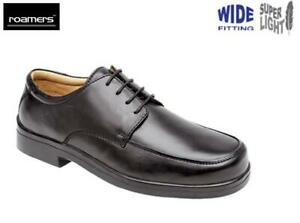 MENS EXTRA WIDE FIT EEE SHOES LEATHER