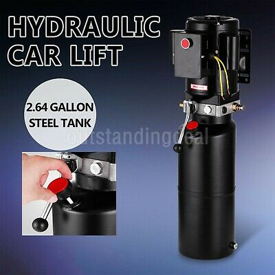220v Car Lift Hydraulic Power Unit Single Acting Hydraulic Pump Vehicle Hoist# SchöN Und Charmant