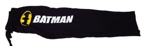 XL Mens Womens NEW DC Comics Batman Logo Black Pajama Lounge Pants Size S