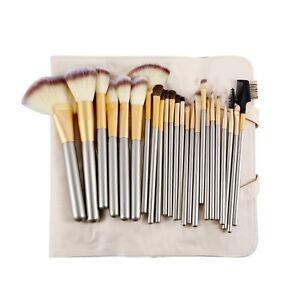 24Pcs-Makeup-Brushes-Cosmetic-Eyebrow-Eyeshadow-Powder-Foundation-Lip-Brush-Set