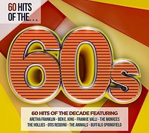 Various-Artists-60-Hits-Of-The-60S-Various-New-CD-UK-Import
