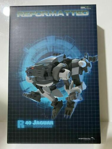 Novo Mastermind Creations Mmc Transformers R-40 Jaguar figura em estoque