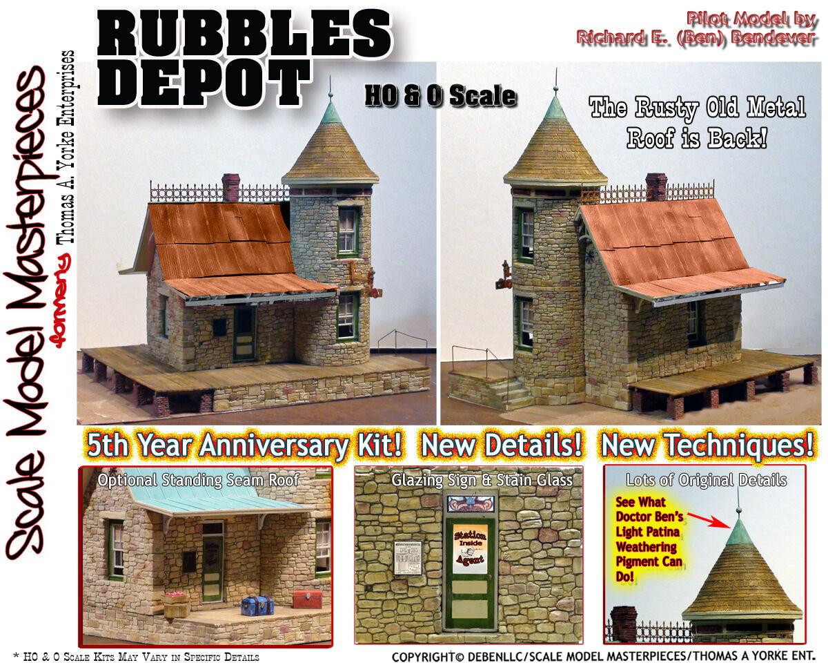 Sr&rl Rubbles Depot Kit Yorke Escala Modelo obras maestrasYorke On3On301-48  Nuevo