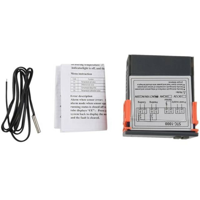 Digital Temperature Controller Thermostat Thermostat Incubator Relay LED 10 A7T5