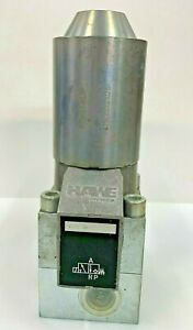"HAWE Hydraulik G 3-3 Directional Seated Valve 3/2-Way NC 1/2"" 24V DC"