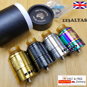 Details about The Sherman Styled RDA 28MM & 25MM UK HIGH QUALITY STOCK  Asylum Mods RTA