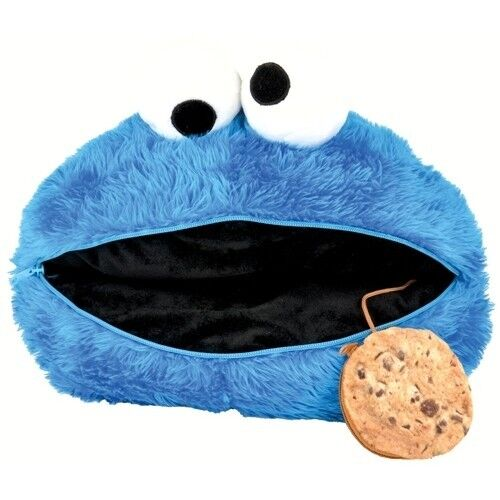 Sesamstraße Kissen Krümelmonster / Sesame Street cushion pillow Cookie Monster