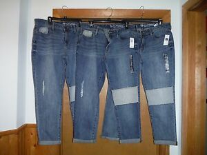 Gap-Sexy-Boyfriend-Jean-Pants-size-12-10-8-6-Light-Indigo-Blue-4-pockets-NWT
