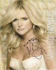 MIRANDA LAMBERT Autographed Signed Photograph - To Lori, Annie & Eve