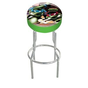 Arcade1up-Adjustable-Stools-Cabinet-Machine-Vinyl-Chrome-Shop-Stool-Turtles
