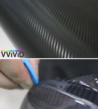 "12"" x 60"" 3D black carbon fiber vinyl car wrap sheet roll film sticker decal"