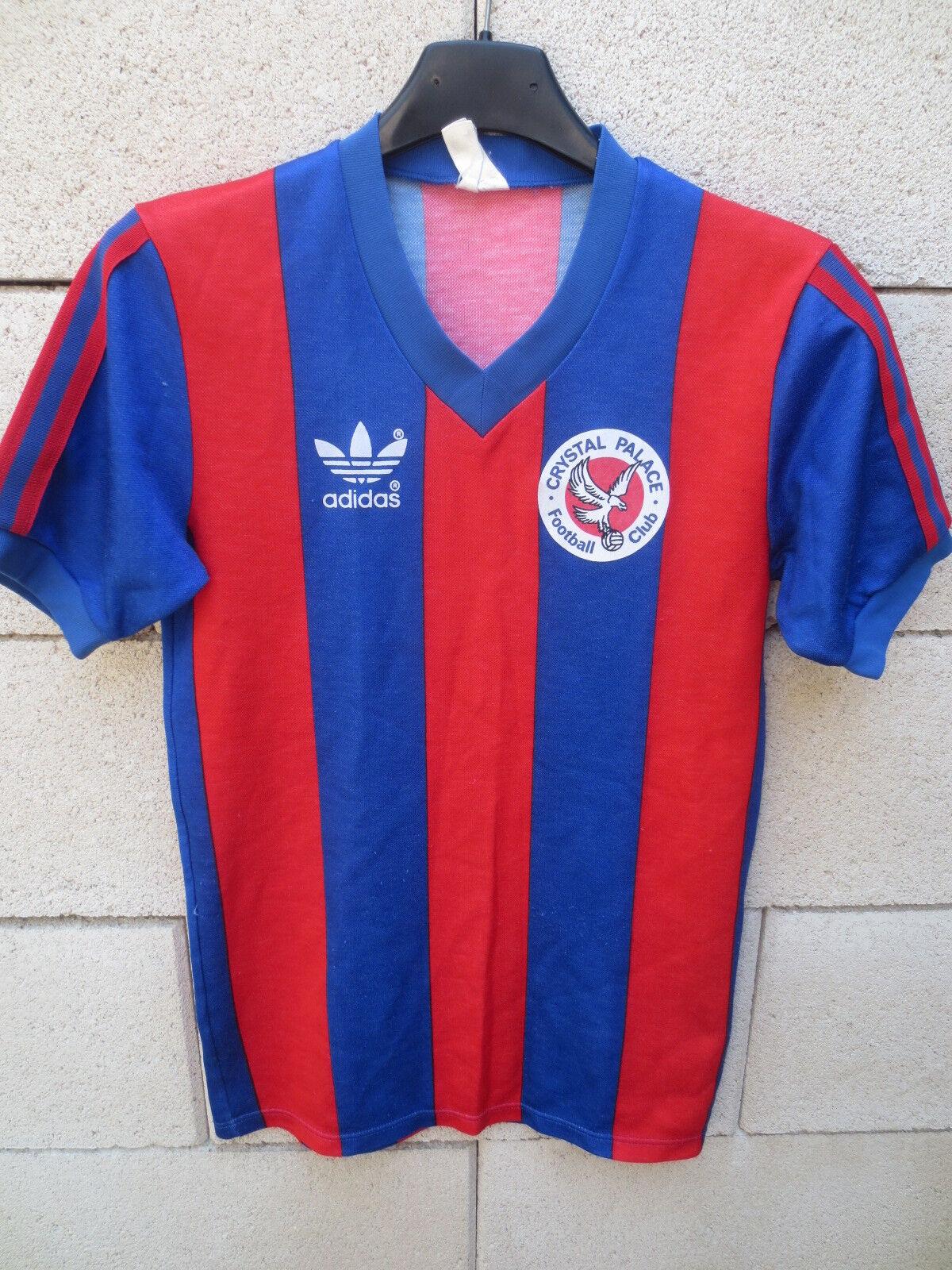Maillot CRYSTAL PALACE vintage ADIDAS shirt rare football oldschool 12 14 ans