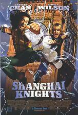 SHANGHAI KNIGHTS Movie POSTER 27x40 B Jackie Chan Owen Wilson Donnie Yen Aidan