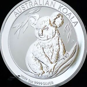 2019-1oz-AUSTRALIAN-9999-SILVER-KOALA-COIN-BU-WITH-MINT-CAPSULE-FREE-SHIPPING