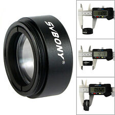 "SVBONY 1.25""(31.7mm)0.5X Focal Reducer Thread M28x0.6 for Telescope Eyepiece Top"