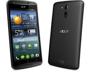 Triple SIM Acer Liquid E700 Trio - 16GB -  black , Triple SIM