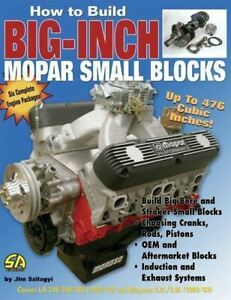 How-To-Build-Big-Inch-Mopar-Small-Blocks-318-340-360-5-2-5-9-Book