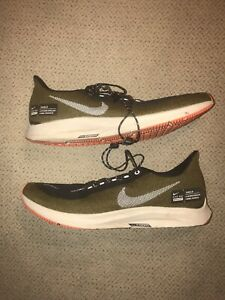 more photos fcc1b ea363 Details about Nike Air Zoom Pegasus 35 Shield [AA1643-300] Men Running  Shoes Olive Sz 10