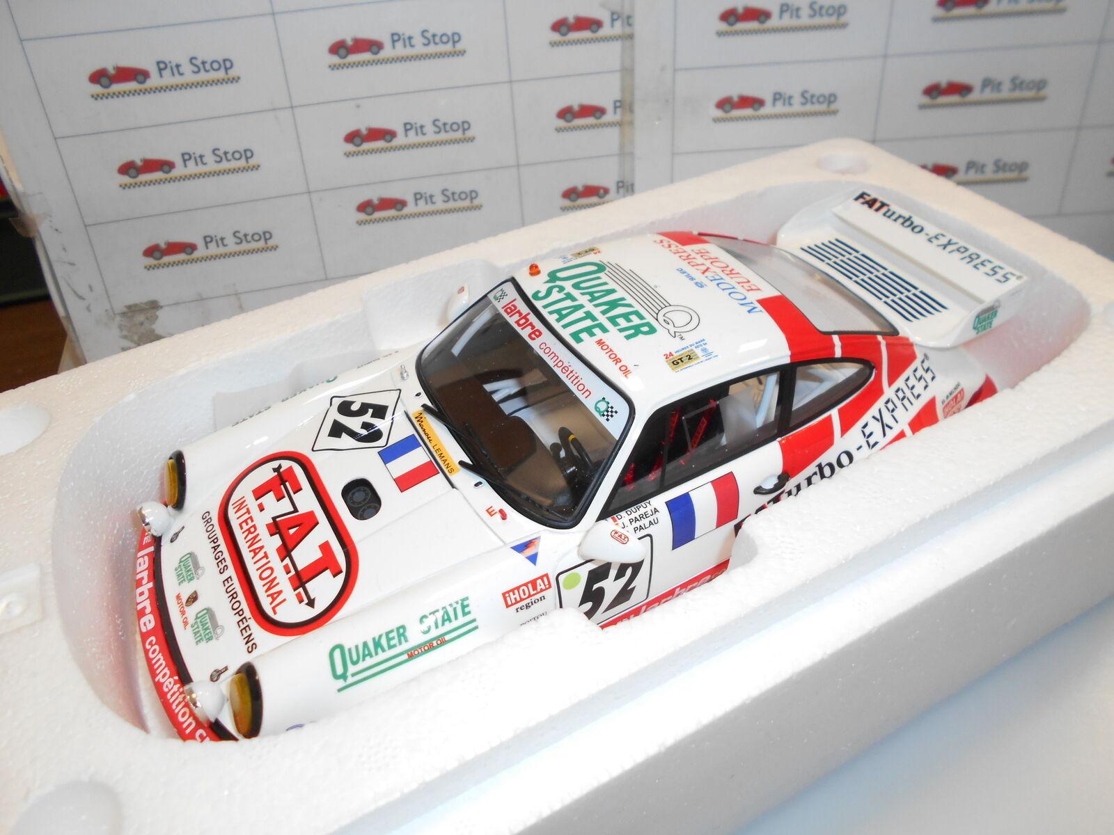 GT104 by GT SPIRIT PORSCHE 964 RSR LE MANS 1994 1 18