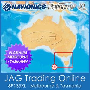 NAVIONICS PLATINUM PLUS CHART 8P133XL MELBOURNE & TASMANIA -GPS MAP SONAR LAYERS