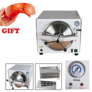 18L Dental Medical Tattoo Autoclave Steam Sterilizer Machine Protect ...