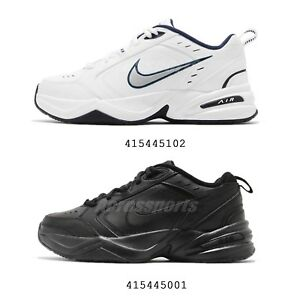 buy online a665a 68c82 Image is loading Nike-Air-Monarch-IV-4-White-Black-Daddy-