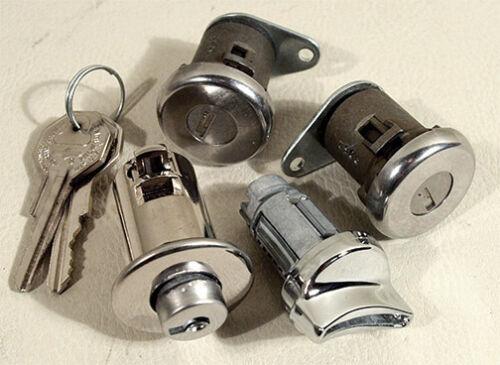 Doors and Glove Box 32798 63 Corvette Lock Set NEW Ignition