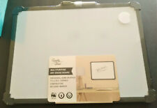New Listingmulti Purpose Dry Erase Board Magnetic Whiteboard 11 By 16 With 1 Marker Heavy