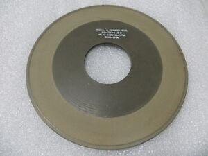 "Bake 8/"" x 1//8/"" x 60 mm F-Face Diamond Grinding Wheel Style 1F1 150 Grit 100 Con"